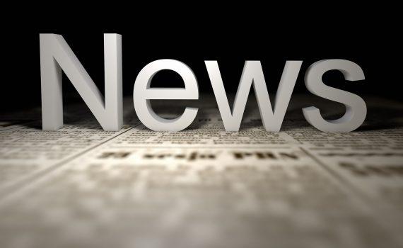 Krant met de tekst News erboven