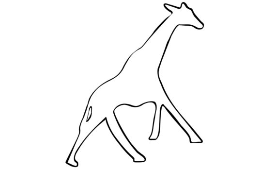 De Giraffe van het online Geweldloze Communicatie festival op 5, 6 en 7 maart 2021
